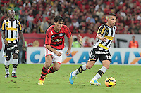 RIO DE JANEIRO; RJ; 28 DE JULHO 2013 -  Gilberto do Botafogo durante partida contra o Flamengo jogo pela nona rodada do Campeonato Brasileiro no Estádio do Maracanã neste domingo, 28. (Foto. Néstor J. Beremblum / Brazil Photo Press).