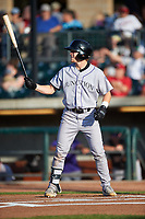 Grand Junction Rockies Jack Yalowitz (5) at bat during a Pioneer League game against the Grand Junction Rockies at Dehler Park on August 15, 2019 in Billings, Montana. Billings defeated Grand Junction 11-2. (Zachary Lucy/Four Seam Images)