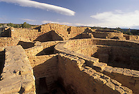 AJ3863, Mesa Verde, Mesa Verde National Park, ruin, archeological, Colorado, Far View Ruins in Mesa Verde Nat'l Park in the state of Colorado.