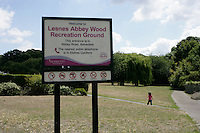 Lesnes Abbey Wood Recreation Ground, Abbey Wood, London, UK