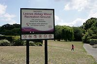 Lesnes Abbey Wood Recreation Ground, Abbey Wood, London, UK