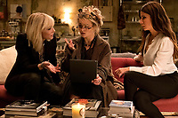 Ocean's 8 (2018)<br /> (Ocean's Eight)<br /> Cate Blanchett, Helena Bonham Carter &amp; Sandra Bullock<br /> *Filmstill - Editorial Use Only*<br /> CAP/MFS<br /> Image supplied by Capital Pictures