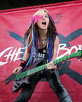 Cherri Bomb performs at the Vans Warped Tour in Atlanta, GA on July 26, 2012.  Copyright © 2012 by HIGH ISO Music, LLC.