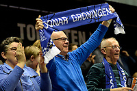 GRONINGEN - Basketbal, Donar - Cluj ,  Europe League, seizoen 2017-2018, 24-01-2018,  supporter Donar