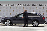 Pablo Laso during the Audi Car delivery, at the basketball players of the Real Madrid. May 25,2016. (ALTERPHOTOS/Rodrigo Jimenez)