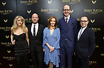 Sonia Friedman, John Tiffany, J.K. Rowling, Jack Thorne and Colin Callender attends the Broadway Opening Day performance of 'Harry Potter and the Cursed Child Parts One and Two' at The Lyric Theatre on April 22, 2018 in New York City.