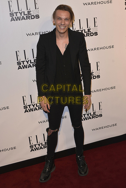LONDON, ENGLAND - FEBRUARY 18: Jamie Campbell Bower attends the Elle Style Awards 2014 at one Embankment on February 18, 2014 in London, England. <br /> CAP/PL<br /> &copy;Phil Loftus/Capital Pictures