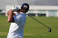 Nicolas Colsaerts (BEL) on the driving range during the Preview of the Commercial Bank Qatar Masters 2020 at the Education City Golf Club, Doha, Qatar . 03/03/2020<br /> Picture: Golffile   Thos Caffrey<br /> <br /> <br /> All photo usage must carry mandatory copyright credit (© Golffile   Thos Caffrey)