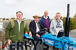 Enjoying the Threshing Festival and Vintage Rally at Blennerville Windmill on Sunday were  l-r  Michael Ladden, Jerry Cremmins, Castleisland, Tom Landers, Ballymac and Michael O'Shea, Ballymac