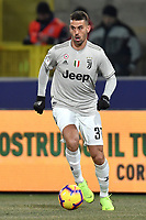 Leonardo Spinazzola of Juventus in action during the Italy Cup 2018/2019 football match between Bologna and Juventus at stadio Renato Dall'Ara, Bologna, January 12, 2019 <br />  Foto Andrea Staccioli / Insidefoto