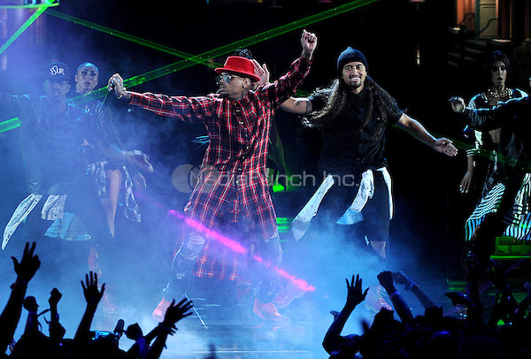 LOS ANGELES, CA - JUNE 29 : Chris Brown performs onstage at the BET Awards '14 at Nokia Theatre L.A. Live on June 29, 2014 in Los Angeles, California. Credit: PGMicelotta/MediaPunch