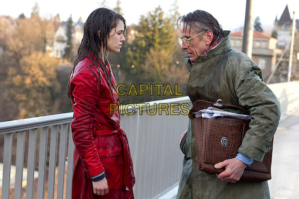 Martina Gedeck, Jeremy Irons <br /> in Night Train to Lisbon (2013) <br /> *Filmstill - Editorial Use Only*<br /> CAP/FB<br /> Image supplied by Capital Pictures