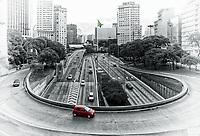 Viaduto do Chá in Sao Paulo, Brazil