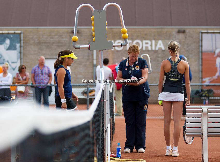 08-08-13, Netherlands, Rotterdam,  TV Victoria, Tennis, NJK 2013, National Junior Tennis Championships 2013, <br /> <br /> <br /> Photo: Henk Koster