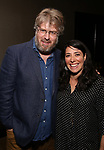 Dave Malloy and Rachel Chavkin attend the Dramatists Guild Fund's Intimate Salon with Dave Malloy at Stella Tower on June 7, 2017 in New York City.