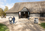 Museum barn building at Avebury, Wiltshire, England, UK