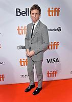 "08 September 2019 - Toronto, Ontario Canada - Eddie Redmayne. 2019 Toronto International Film Festival - ""The Aeronauts"" Premiere held at  Roy Thomson Hal. <br /> CAP/ADM/BPC<br /> ©BPC/ADM/Capital Pictures"