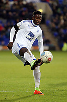 Larnell Cole of Tranmere Rovers during Tranmere Rovers vs Dagenham & Redbridge, Vanarama National League Football at Prenton Park on 11th November 2017