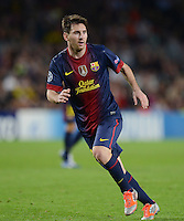 FUSSBALL   INTERNATIONAL   CHAMPIONS LEAGUE   2012/2013      FC Barcelona - Celtic FC Glasgow       23.10.2012 Lionel Messi (Barca)