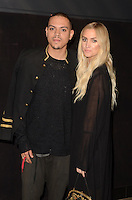 "HOLLYWOOD, CA - NOVEMBER 07: Evan Ross and Ashlee Simpson at  the Premiere Of ""God vs Trump"" At TCL Chinese theatre in Hollywood, California on November 07, 2016. Credit: David Edwards/MediaPunch"