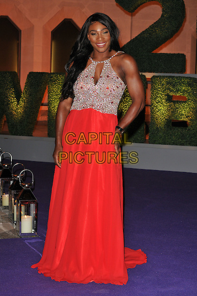 Serena Williams at the Wimbledon Champions Dinner, The Guildhall, Gresham Street, London, England, UK, on Sunday 10 July 2016.<br /> CAP/CAN<br /> &copy;CAN/Capital Pictures