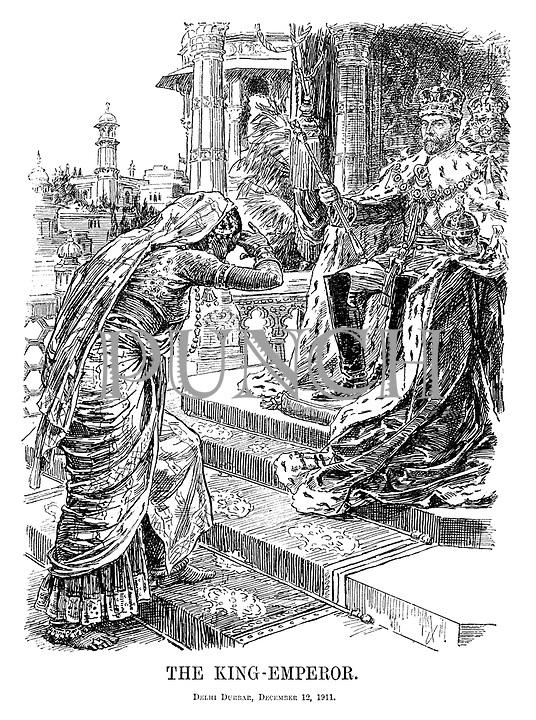 The King-Emperor. Delhi Durbar, December 12, 1911.