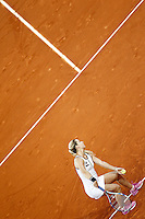 Dominika Cibulkova, Slovakia, during Madrid Open Tennis 2016 Final match.May, 7, 2016.(ALTERPHOTOS/Acero) /NortePhoto.com