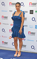 Jorja Smith at the Nordoff Robbins O2 Silver Clef Awards 2018, Grosvenor House Hotel, Park lane, London, England, UK, on Friday 06 July 2018.<br /> CAP/CAN<br /> &copy;CAN/Capital Pictures