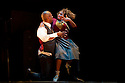 """London, UK. 19/10/2011. """"Some Like It Hip Hop"""", by ZooNation, opens at the Peacock Theatre.  Picture shows Natasha Gooden and Duwane Taylor."""