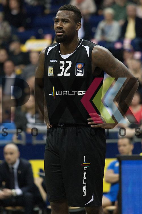 Tuebingens Tarlyn Fitzpatrick <br /> <br /> 19.12.15 BEKO BBL Basketball Bundesliga, ALBA Berlin - WALTER Tigers Tuebingen <br /> <br /> Foto &copy; PIX-Sportfotos *** Foto ist honorarpflichtig! *** Auf Anfrage in hoeherer Qualitaet/Aufloesung. Belegexemplar erbeten. Veroeffentlichung ausschliesslich fuer journalistisch-publizistische Zwecke. For editorial use only.