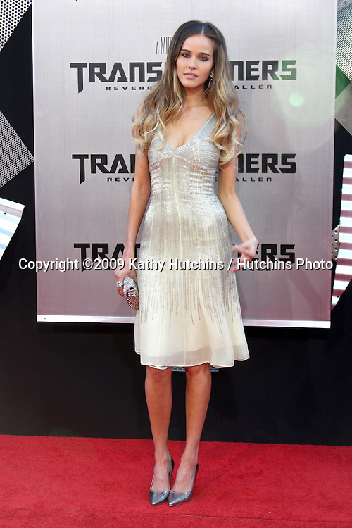 """Isabel Lucas arriving at the """"Transformers: Revenge of the Fallen"""" Premiere at the Mann's Village Theater in Westwood, CA  on June 22, 2009.  .©2009 Kathy Hutchins / Hutchins Photo"""