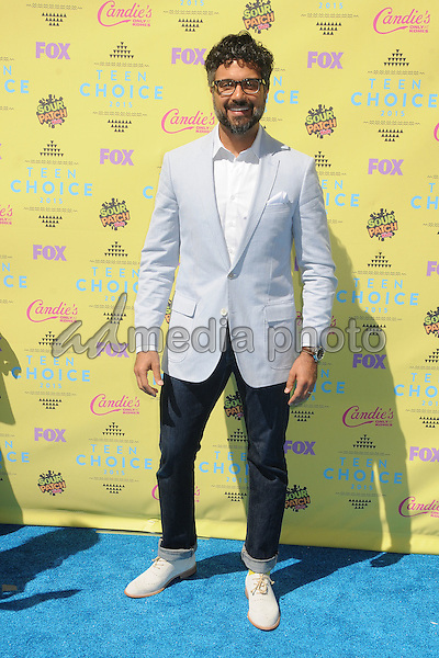 16 August 2015 - Los Angeles, California - Jaime Camil. Teen Choice Awards 2015 - Arrivals held at the USC Galen Center. Photo Credit: Byron Purvis/AdMedia