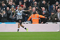 Kenedy of Newcastle United celebrates scoring his second goal of the game during Newcastle United vs Southampton, Premier League Football at St. James' Park on 10th March 2018