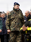 "Prince Felipe of Spain during exercise ""GAMMA PALAZUELOS 2013"" of theMIlitary Unit of Emergency (UME).March 11 ,2013. (ALTERPHOTOS/Acero)"