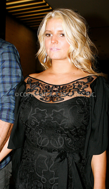 WWW.ACEPIXS.COM . . . . .  ....September 8 2010, New York City....Actress Jessica Simpson and her boyfriend Eric Johnson leaving a hotel in midtown Manhattan on September 9 2010 in New York City....Please byline: NANCY RIVERA- ACEPIXS.COM.... *** ***..Ace Pictures, Inc:  ..Tel: 646 769 0430..e-mail: info@acepixs.com..web: http://www.acepixs.com