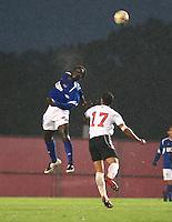UCSB vs Rutgers Men's Soccer, September 12, 2008.