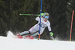 10.03.2018, Ofterschwanger Horn, Ofterschwang, GER, Slalom Weltcup in Ofterschwang, im Bild Katharina Gallhuber (AUT, #1)<br /> <br /> Foto &copy; nordphoto / Hafner