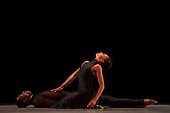 LONDON - ENGLAND, Alvin Ailey American Dance Theater, World Premiere of Anointed, Sadler's Wells, London, Jamar Roberts and Linda Celeste Sims