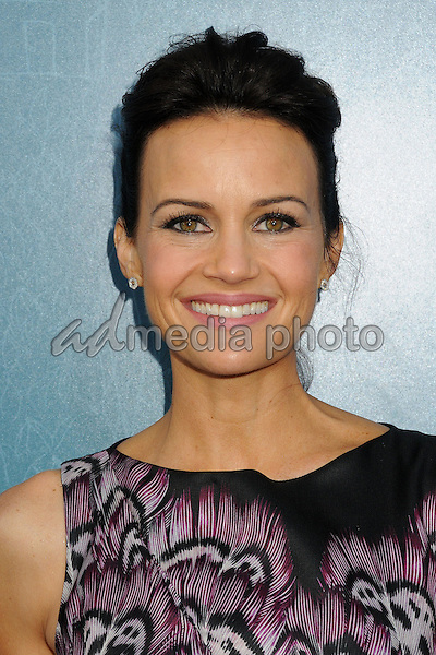"3 June 2015 - West Hollywood, California - Carla Gugino. ""Me And Earl And The Dying Girl"" Los Angeles Premiere held at the Harmony Gold Theatre. Photo Credit: Byron Purvis/AdMedia"