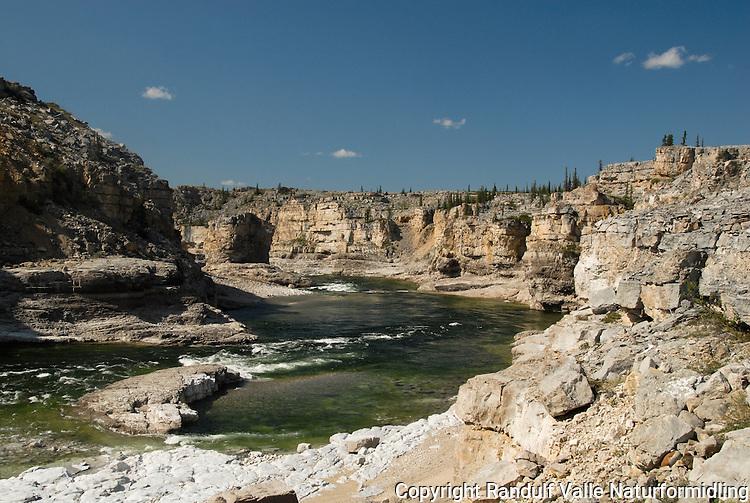 Horton River Canyon