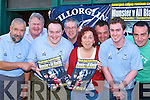 Killorglin Rugby club who are holding a draw to win tickets to see Munster play the All Blacks l-r: Tom Curtayne, John Costello, Aidan Clifford, Brendan Murphy, Maddy Foley, Shane Buckley, David Coffey and Jerome O'Sullivan          Copyright Kerry's Eye 2008
