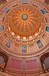Michigan capitol dome oculus