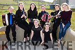 The Keel Ballad & Music Group who took part in the County Finals of Scór na bPáistí held in Foilmore on Sunday were front l-r; Cianna Foley, Laoise Foley, back l-r; Gearóid Evans, Brid Ann Evans, Liath Lenihan, Tadgh Evans, Liam Evans & Heather Grey(Trainer).