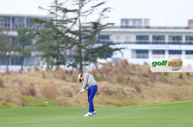 Tommy Fleetwood (ENG) on the 15th fairway during the Pro-Am for the BMW Masters at Lake Malaren Golf Club in Boshan, Shanghai, China on Wednesday 11/11/15.<br /> Picture: Thos Caffrey   Golffile