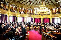 Oslo, 20110801. Minnestund på Stortinget. Terror i Oslo. Foto: Eirik Helland Urke / Dagbladet