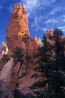 Rock formation in Bryce Canyon, National Park..