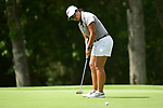 HOUSTON, TX - MAY 19: Ueakarn Loukyee Songprasert of West Texas A & M putts the ball during the Division II Women's Golf Championship held at Bay Oaks Country Club on May 19, 2018 in Houston, Texas. (Photo by Justin Tafoya/NCAA Photos via Getty Images)
