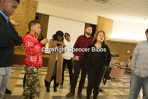Children and parents from around the city and neighboring suburbs were invited to come and talk about social issues that are affecting young people today Monday at The Martin Luther King Social Justice Congress that was held at KAM Isaiah Israel located at 1100 E. Hyde Park Blvd. <br /> <br /> Please 'Like' &quot;Spencer Bibbs Photography&quot; on Facebook.<br /> <br /> All rights to this photo are owned by Spencer Bibbs of Spencer Bibbs Photography and may only be used in any way shape or form, whole or in part with written permission by the owner of the photo, Spencer Bibbs.<br /> <br /> For all of your photography needs, please contact Spencer Bibbs at 773-895-4744. I can also be reached in the following ways:<br /> <br /> Website &ndash; www.spbdigitalconcepts.photoshelter.com<br /> <br /> Text - Text &ldquo;Spencer Bibbs&rdquo; to 72727<br /> <br /> Email &ndash; spencerbibbsphotography@yahoo.com