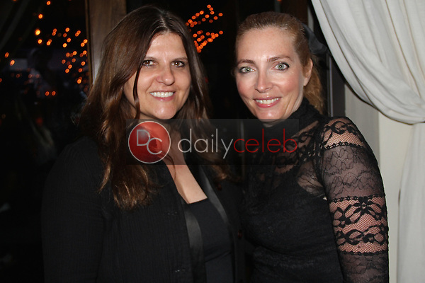"""Debora Guetta, Chiara Tilesi<br /> at the """"Struggleing"""" For Your Consideration event hosted by A. Whole Productions and Brent Harvey Films, Crossroads Kitchen, Los Angeles, CA 06-06-18<br /> David Edwards/DailyCeleb.com 818-249-4998"""