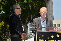 Jeff Goldblum &amp; Ed Begley Jr. at the Hollywood Walk of Fame Star Ceremony honoring actor Jeff Goldblum, Los Angeles, USA 14 June 2018<br /> Picture: Paul Smith/Featureflash/SilverHub 0208 004 5359 sales@silverhubmedia.com